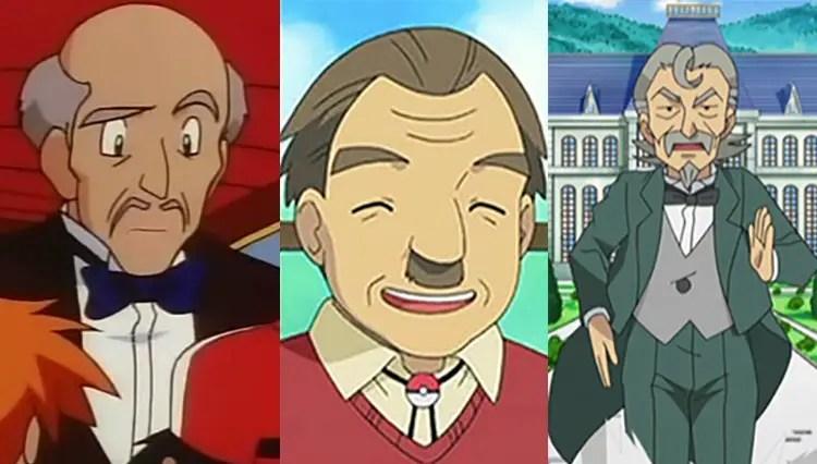 Hopkins, Mr. Cheeves and Sebastian From Pokémon