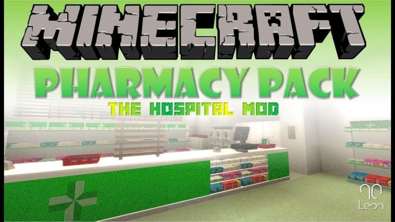 The Hospital Mod – Pharmacy Pack