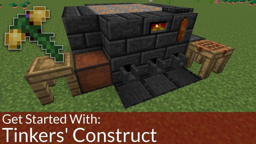 Tinker's Construct furniture mods for minecraft