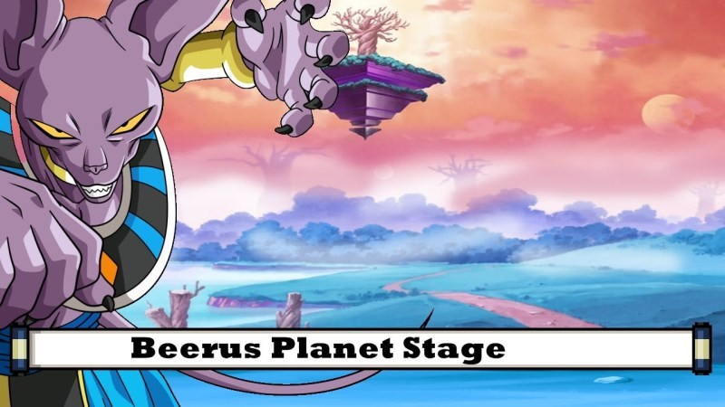 Beerus Planet Stage