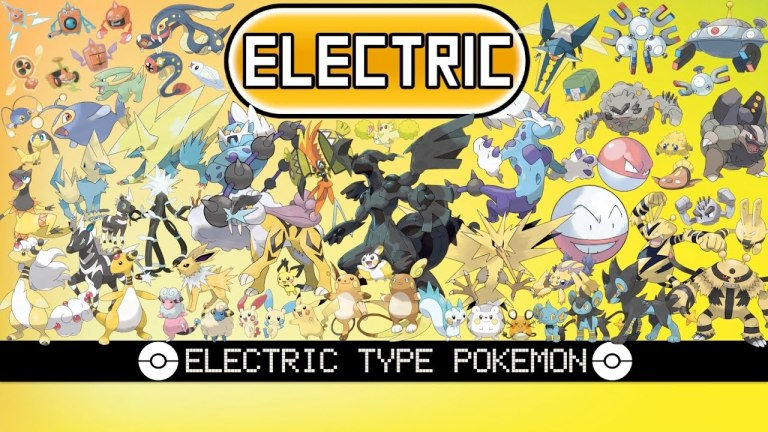Electric Type Pokemon