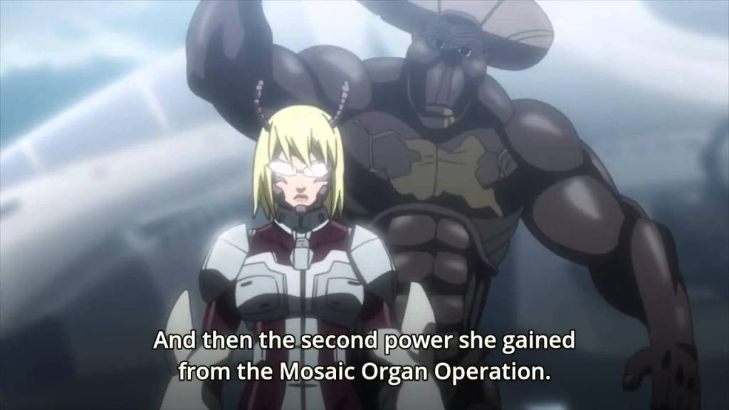Terra Formars gory anime