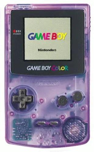Gengar Backlit Gameboy Color