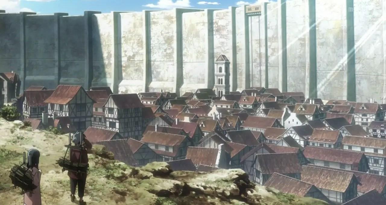 Attack On Titan Walls