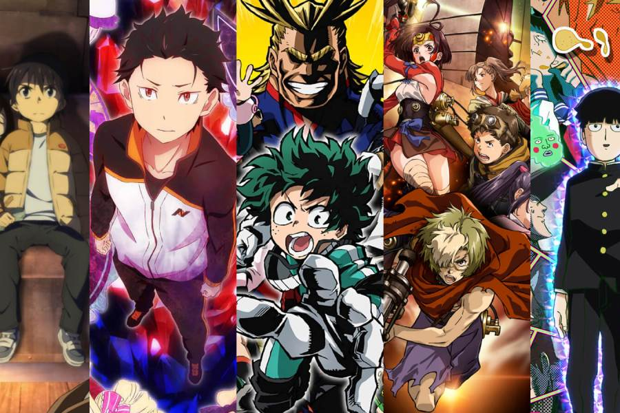 Best Anime of 2016