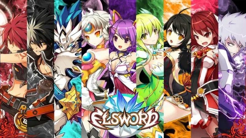 Elsword Characters