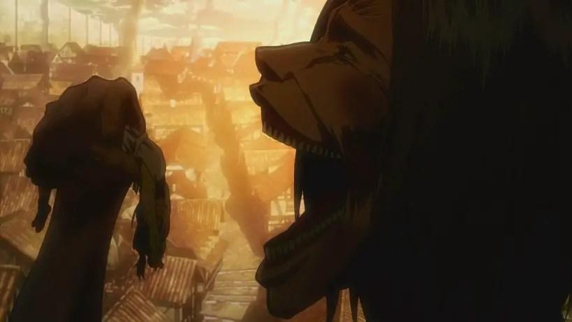 Grisha make Eren eat