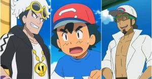 Pokemon Sun & Moon Characters