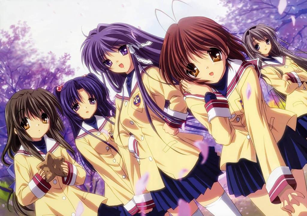 Kyou Fujibayashi, Ryou Fujibayashi and Fuuko Ibuki From Clannad