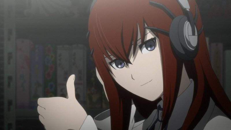 Makise kurisu From Steins Gate