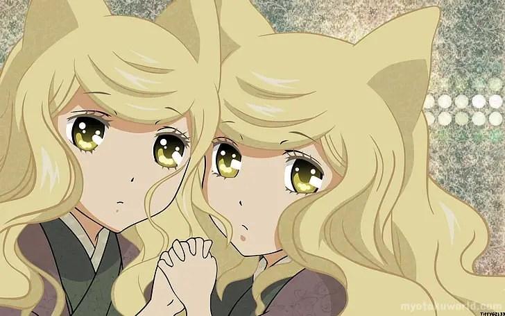 Bonbori and Hozuki From Otome Youkai Zakuro