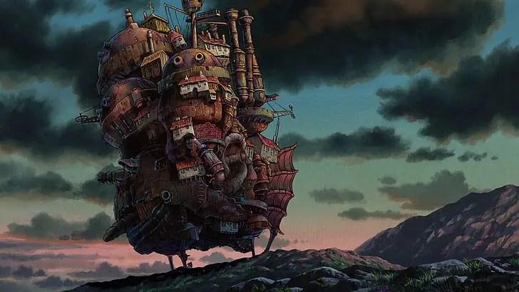 The Moving Castle From Hauru no Ugoku Shiro