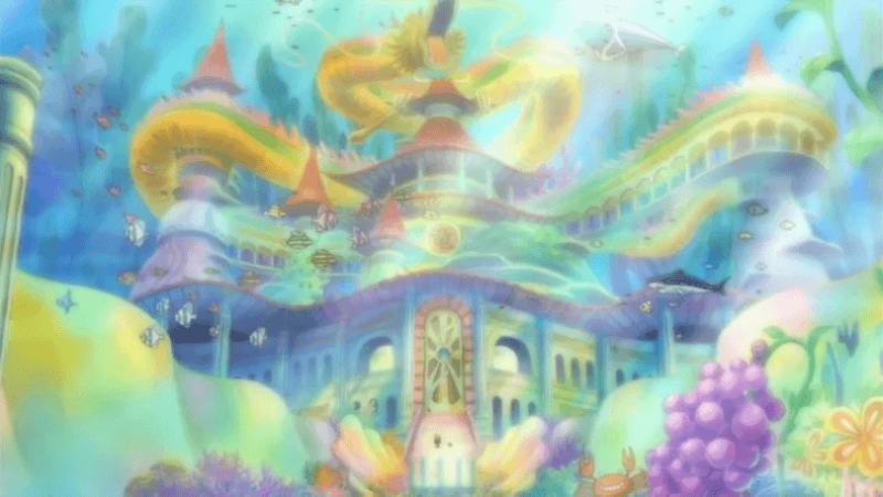 The Ryugu Palace From One Piece
