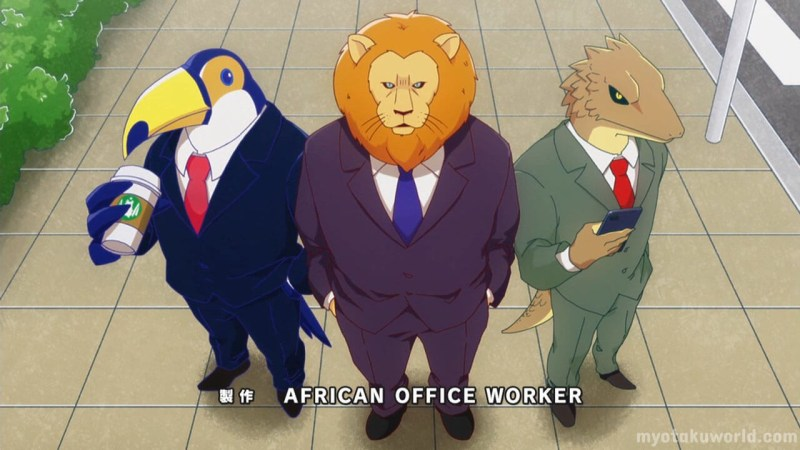 African Salaryman