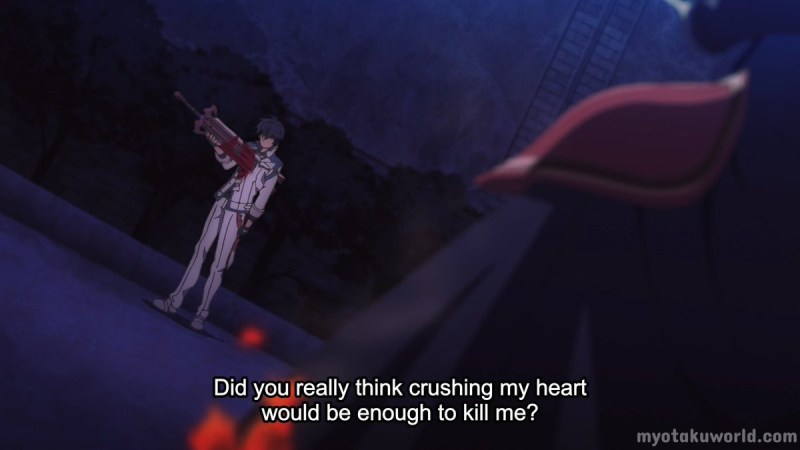 Did you really think crushing my heart would be enough to kill me?