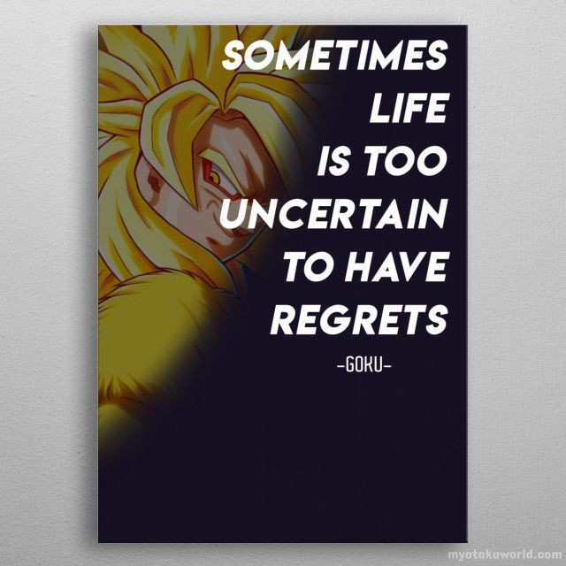 """""""Sometimes life is too uncertain to have regrets"""""""
