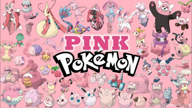 Pink Pokémon