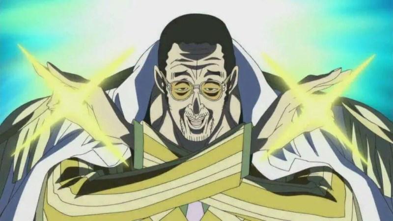 Borsalino-san a.k.a Kizaru (Yellow Monkey)