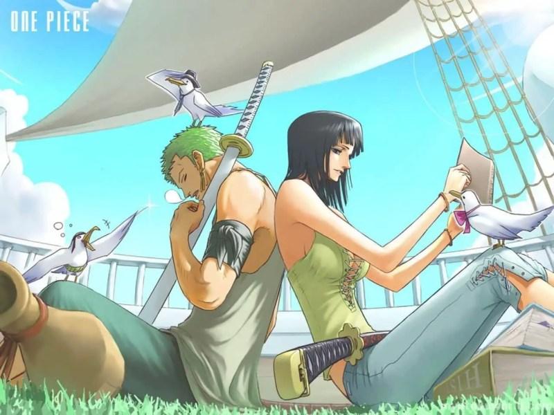 Roronoa Zoro And Nico Robin (372)