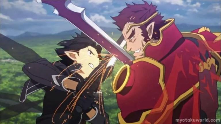 Sword Fighting Anime