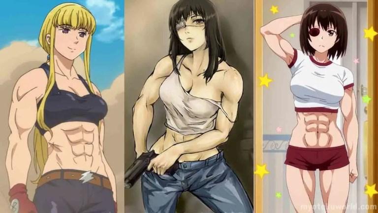 Muscular Anime Girl