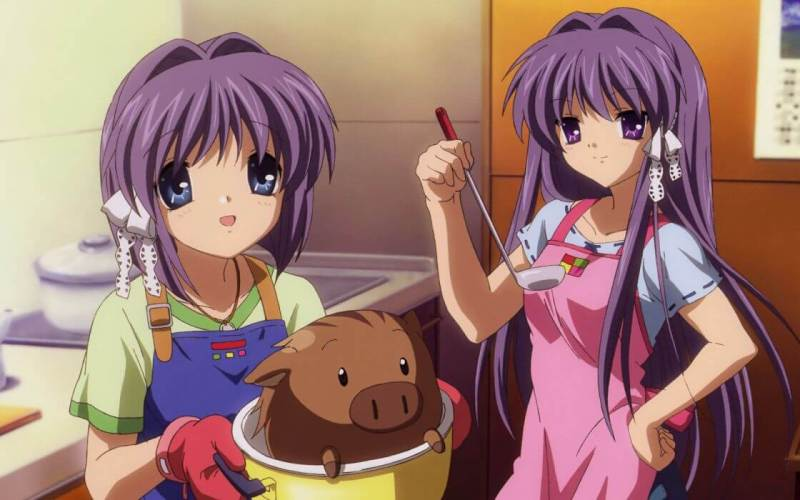 Ryou & Kyou Fujibayashi From Clannad