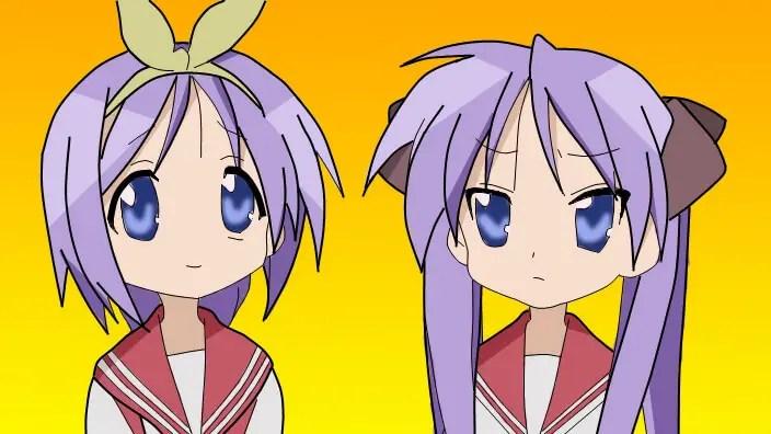 Tsukasa & Kagami Hiiragi From Lucky Star