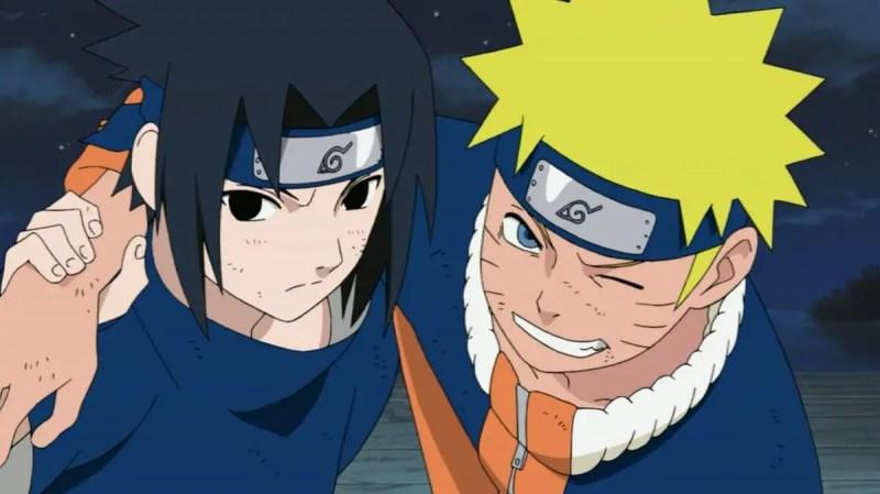 Naruto and Sasuke From Naruto