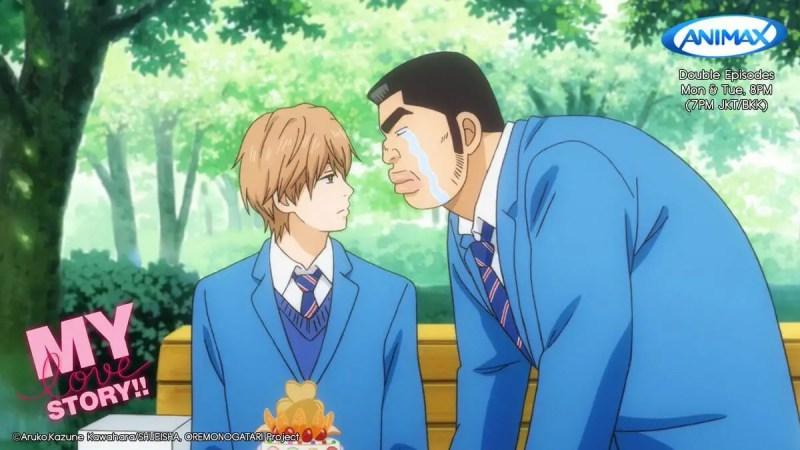 Takeo Gouda and Makoto Sunakawa From My Love Story!!