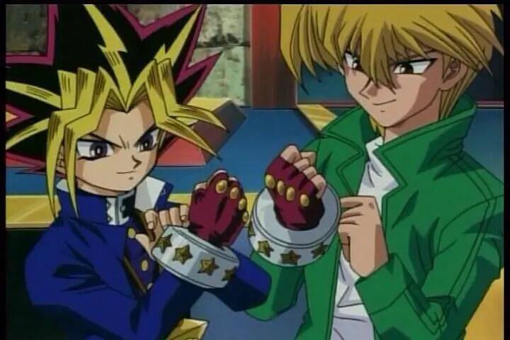Yugi and Joey From Yu-Gi-Oh!