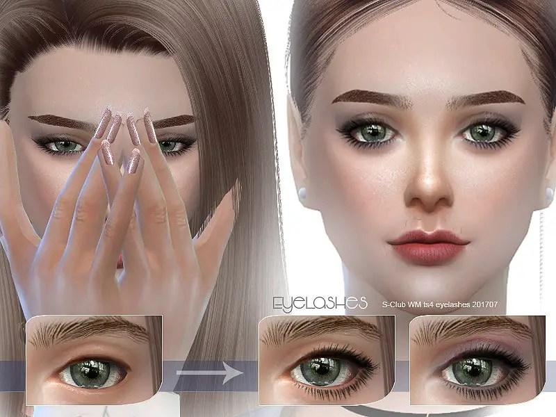 Daily Eyelashes sims 4