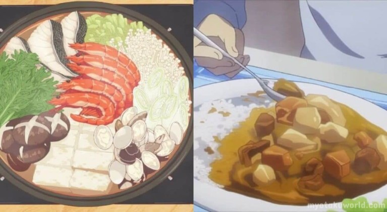 Delicious Anime Foods