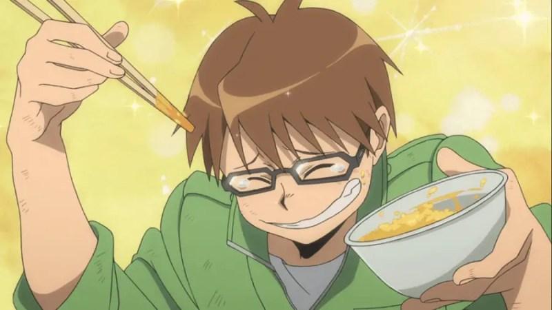 Hachiken Yuugo's cooking (Silver Spoon)