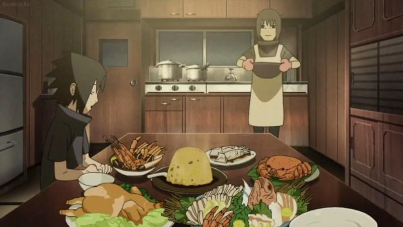 Itachi Uchiha's Meals (Naruto)
