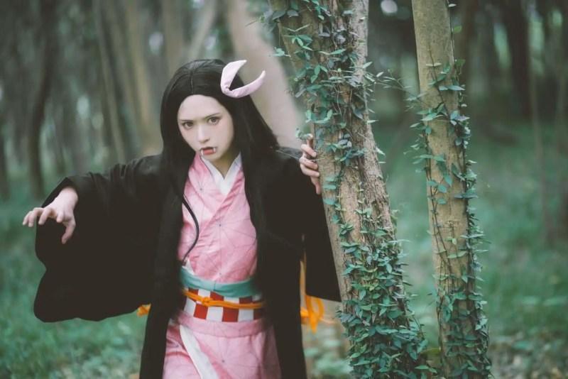 Kamado Nezuko From Kimetsu no Yaiba or Demon Slayer