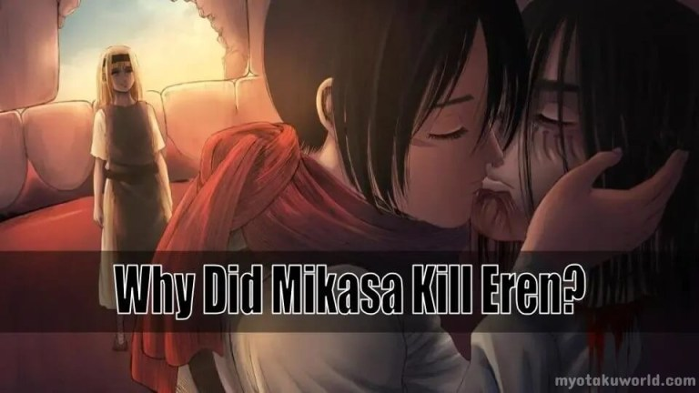 Why did Mikasa Kill Eren In Attack On Titan Explained!