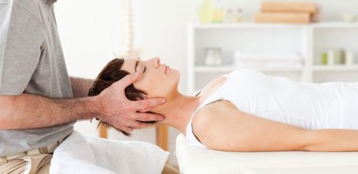 gentle neck traction exercise