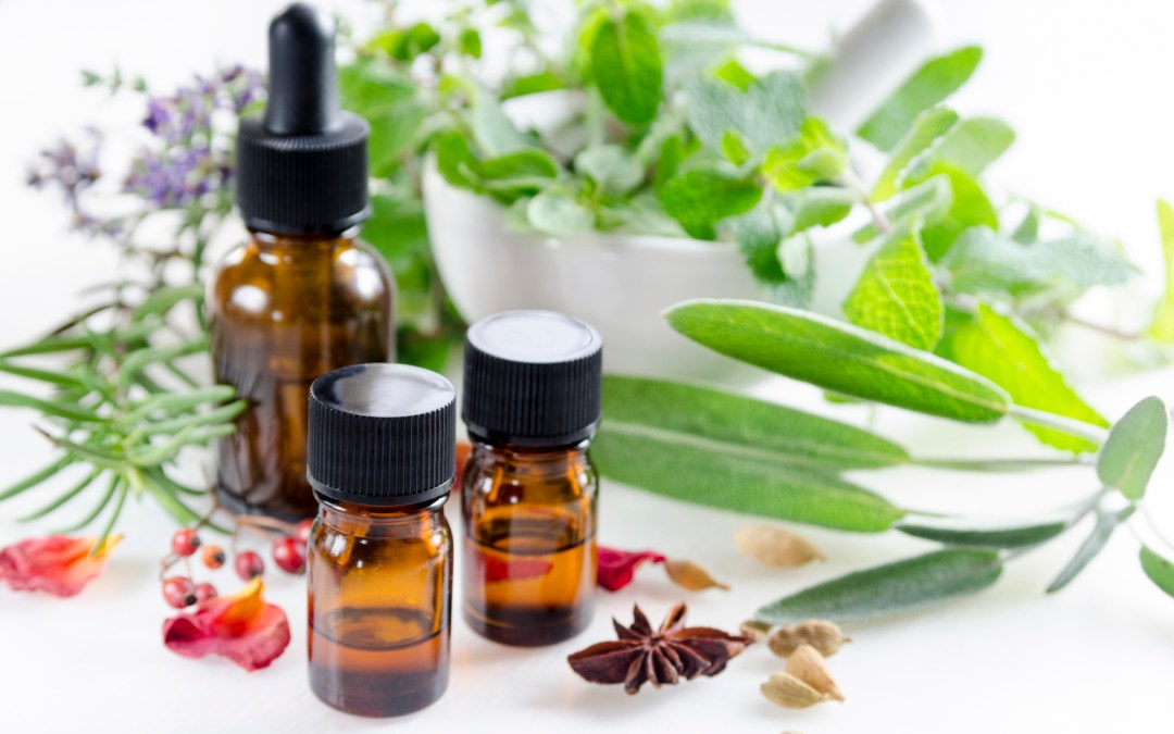 4 essential oils to soothe aches & pains