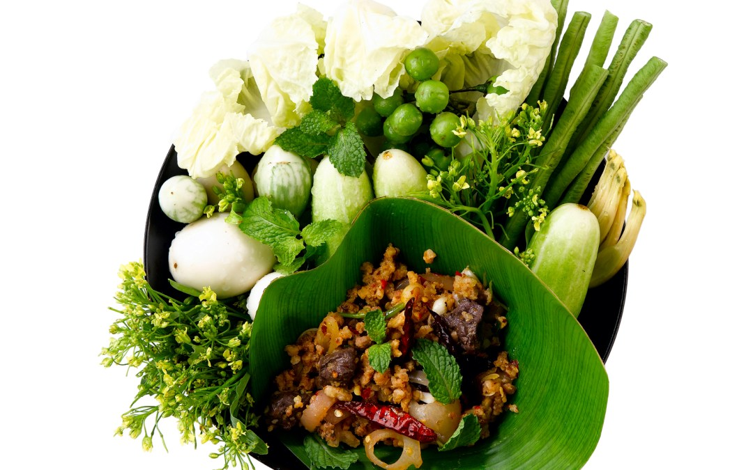Thai Beef Larb Bites