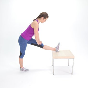 Hamstring-Stretch, post running tip