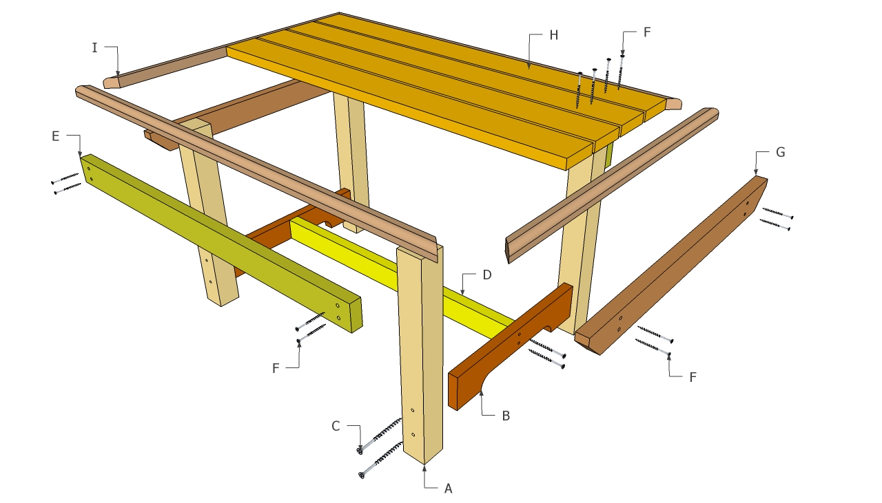 Pdf plans outdoor wood furniture building plans download for Furniture plans