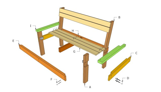Free Wood Shooting Bench Plans