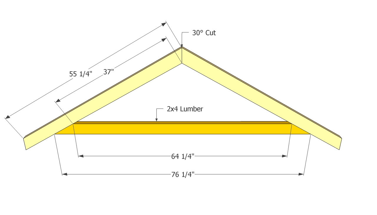 Essential details in how to build a shed roof examined for Build a cupola free plans