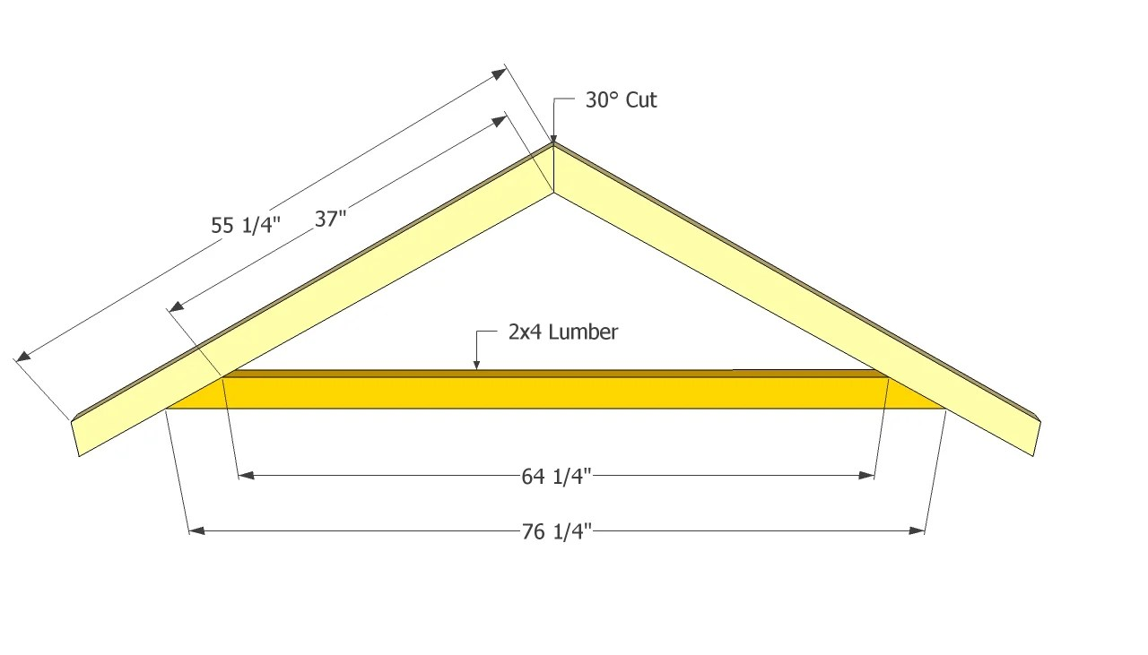 Essential details in how to build a shed roof examined for How to build a cupola plans free
