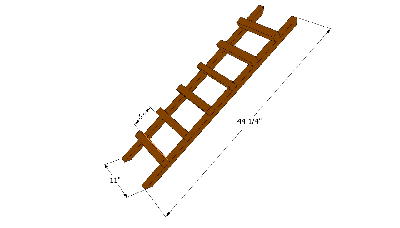 build wood ladder