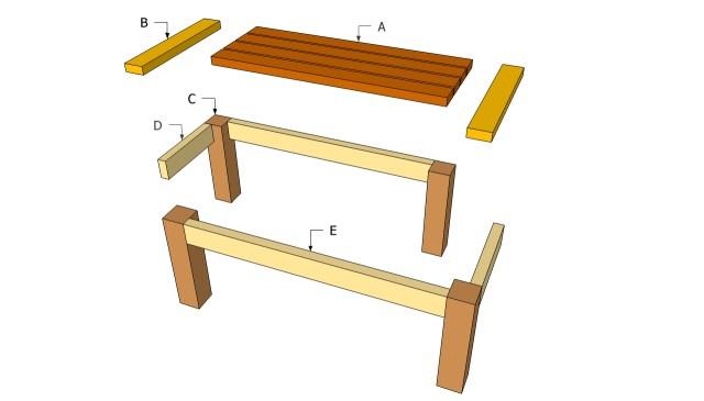DIY Patio Table Plans
