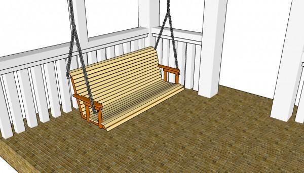 Free Porch Swing Plans Myoutdoorplans Free Woodworking