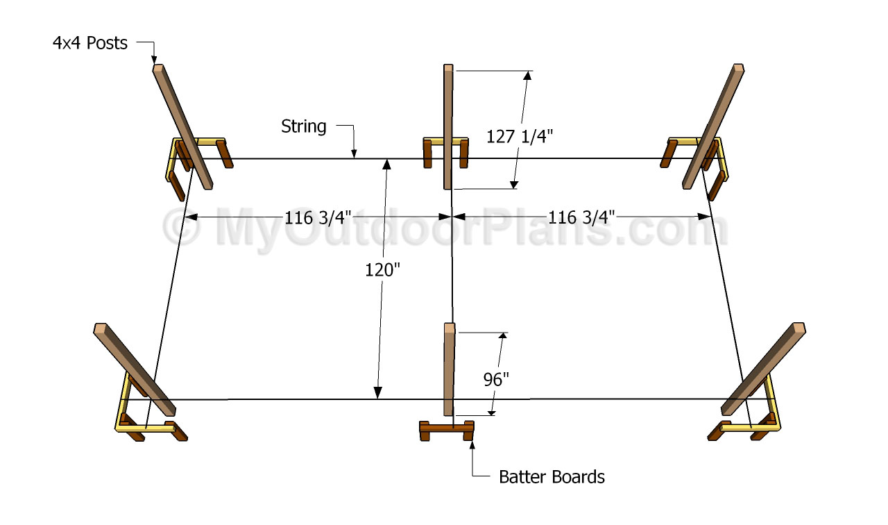 Pdf plans free wood carport plans download build for 2 car carport plans free