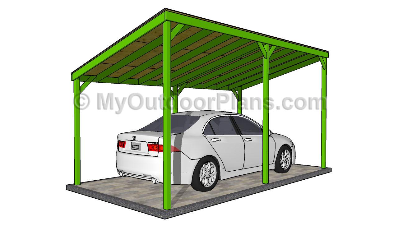 Build Diy Wood Carport Design Plans Plans Wooden