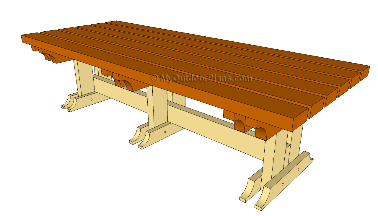 woodworking plans outdoor table